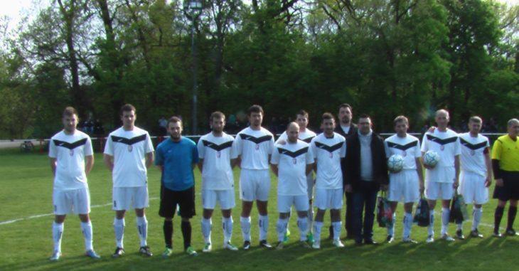 Az Adony a Szabadegyházát fogadta a hétvégén - fotó: Adonyi foci - VSK facebook