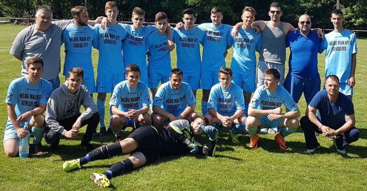 Bajnok a Seregélyes U19-es csapata