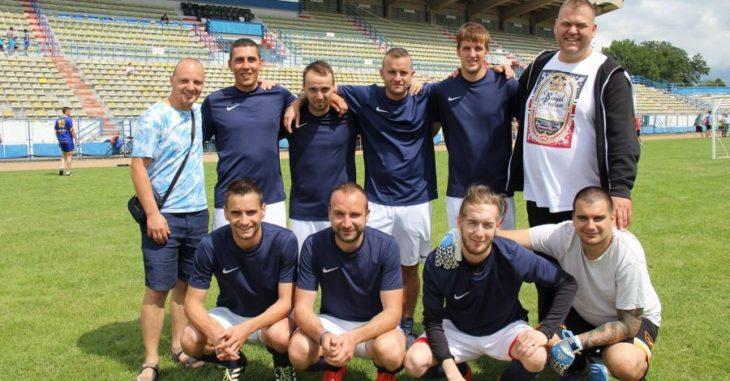 A Mányi TK felnőtt csapatának magja Dél-Erdélyben vendégszerepelt