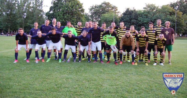 Az Inárcs és a Mány gólgazdag barátságos mérkőzést játszott egymással - fotó: Inárcs VSE