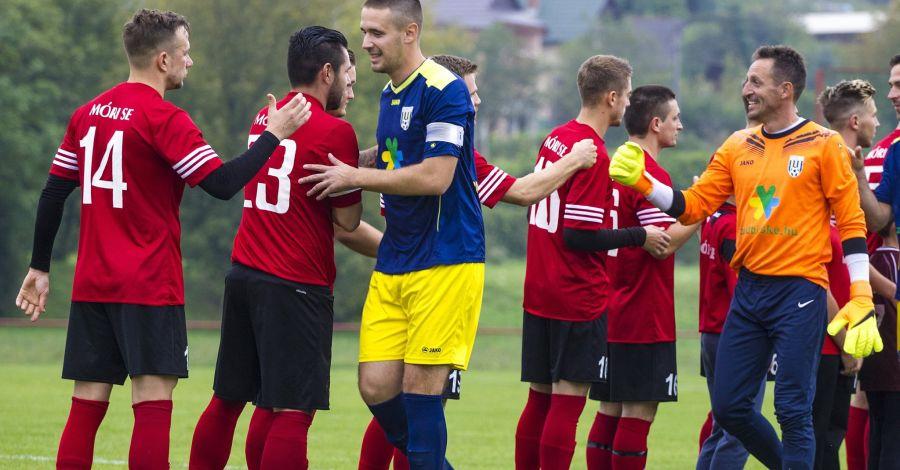 Nem hozott gólt a Mór és a Bicske összecsapása - fotó: Zelovits Gábor