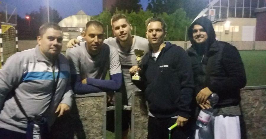 A Szfinx meggyőző fölénnyel nyerte az I. FociDrukker Bajnokságot