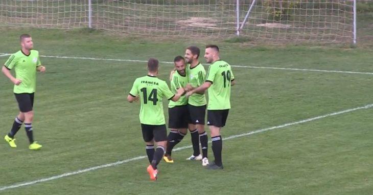 Balogh a Bozsik stadionban is betalált - fotó: Csordás Viktor Youtube