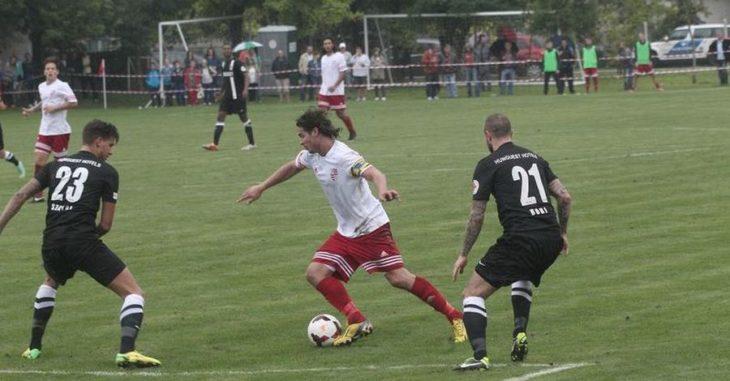 Nagy Attila Zsolt számos emlékezetes meccset játszott az Iváncsa színeiben, többek között a DVTK ellen is pályára lépett - fotó: Iváncsa KSE