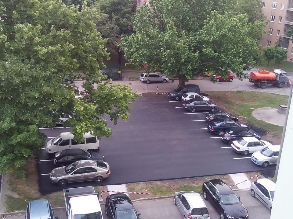 A tervezés csúcsa ez a parkoló