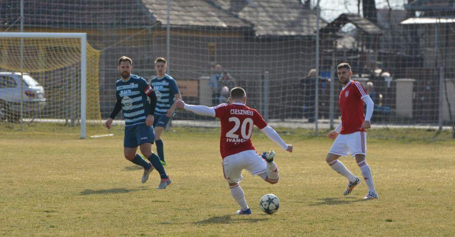 Csesznekinek a gólszerzésre is esélye nyílt - fotó: Varga Luca